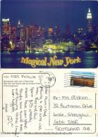 Hudson River, New York City NYC, New York, United States US Postcard Posted 2001 Stamp - New York City