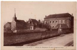Chamblanc : Maison Des Religieuses De St-Joseph De Cluny (Edition Et Cliché Karrer, Dole) - France