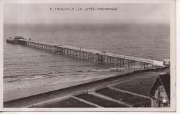 CPA - PHOTO - TROUVILLE - LE JETEE PROMENADE - 5 - ETOILE - Trouville