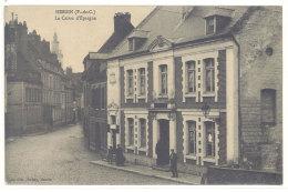 Cpa Hesdin - La Caisse D'Epargne     ((S.333)) - Hesdin