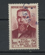FRANCE -  BAUDOT - N° Yvert 846 Obli.