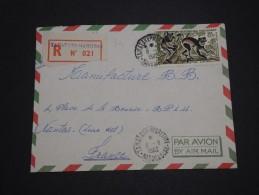 MADAGASCAR - Enveloppe En Recommandé De Tamatave Pour La France En 1962 , Affranchissement Plaisant  - A Voir - L 4845 - Madagascar (1960-...)