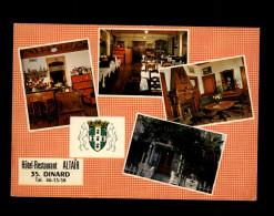 35 - CANCALE - Multi Vues - Carte Pub Hotel Restaurant ALTAÏR - Cancale