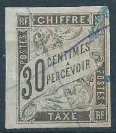 Colonies Générales -  1884 - Taxe  - N° 9 -  Oblit - Used