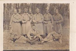CARTE PHOTO / AU DOS EPINAL1915 / 170 E REGIMENT - Regiments