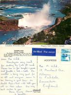Niagara Falls, Ontario, Canada Postcard Posted 1977 Stamp - Niagarafälle