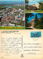 University Of Alberta, Edmonton, Alberta, Canada Postcard Posted 1979 Stamp - Edmonton