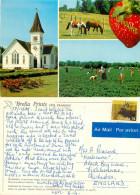 Richmond, Fraser Valley, British Columbia, Canada Postcard Posted 1988 Stamp - British Columbia
