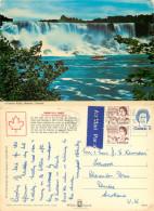 Niagara Falls, Ontario, Canada Postcard Posted 1975 Stamp - Niagarafälle
