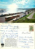 Cars, Niagara Falls, Ontario, Canada Postcard Posted 1980 Stamp - Niagarafälle