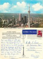 CN Tower, Toronto, Ontario, Canada Postcard Posted 1978 Stamp - Toronto