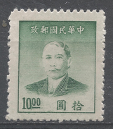 China 1949. Scott #895b (M) Dr. Sun Yat-Sen * - Chine