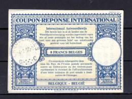 1957   Coupon-réponse International, Belgique - Documentos Del Correo