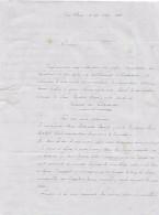 Déc. 1848 - TURCKHEIM (68) - Envoi De Dispositions Testamentaires Détaillées Après Décès - - Documents Historiques