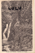 DEPT 74 : Servoz , Cascade De L Aigle - France