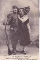 LA TRIPLE ENTENTE / SOIS TRANQUILLE MON ALSACE / EDIT BARBARINO / MARSEILLE - War 1914-18