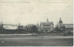 MERBES-LE-CHATEAU : Vue D'Ensemble - RARE CPA - Cachet De La Poste 1907 - Erquelinnes