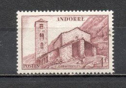 ANDORRE N° 100 NEUF SANS CHARNIERE COTE 0.30€   PAYSAGE