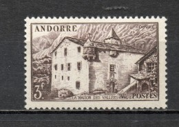 ANDORRE N° 106 NEUF SANS CHARNIERE COTE 0.40€   PAYSAGE