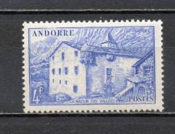 ANDORRE N° 107   NEUF SANS CHARNIERE COTE 0.40€   PAYSAGE