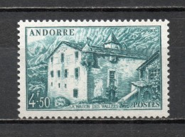 ANDORRE N° 108A   NEUF SANS CHARNIERE COTE 11.50€   PAYSAGE
