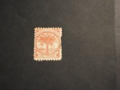 SAMOA - Posta Locale - 1887/99 PIANTE  1 P. - TIMBRATO/USED - Samoa