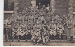 MILITARIA / CARTE PHOTO GROUPE DE SOLDATS 4è BATTERIE - 1925 - Militaria