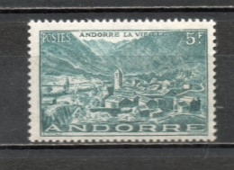 ANDORRE N° 110   NEUF SANS CHARNIERE COTE 1.50€   PAYSAGE