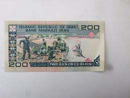 IRAN : Billet De 200 Rials, - Etat Neuf - Iran