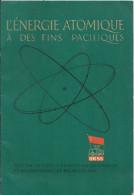 Livre ,l'énergie Atomique  Urss 1958
