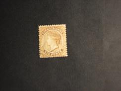 TURKS - 1881 REGINA  6 P. - TIMBRATO/USED - Turks E Caicos