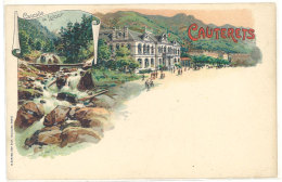 Cpa Cauterets - Cascade De Lutour ...  ((S.349)) - Cauterets