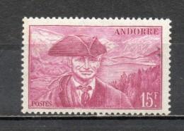 ANDORRE N° 114   NEUF SANS CHARNIERE COTE 1.00€   PAYSAGE  LAC