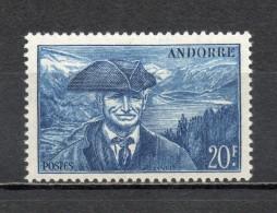 ANDORRE N° 115   NEUF SANS CHARNIERE COTE 1.00€   PAYSAGE  LAC