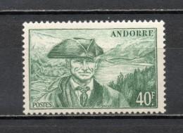 ANDORRE N° 117   NEUF SANS CHARNIERE COTE 6.70€   PAYSAGE  LAC
