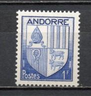 ANDORRE N° 119   NEUF SANS CHARNIERE COTE 1.00€   ARMOIRIE