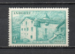 ANDORRE N° 121  NEUF AVEC CHARNIERE COTE 0.65€   PAYSAGE