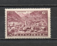 ANDORRE N° 125  NEUF AVEC CHARNIERE COTE 0.30€   PAYSAGE