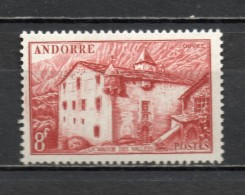 ANDORRE N° 128   NEUF SANS CHARNIERE COTE 1.00€   PAYSAGE