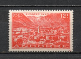 ANDORRE N° 129  NEUF AVEC CHARNIERE COTE 1.00€   PAYSAGE