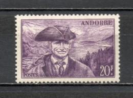 ANDORRE N° 135   NEUF SANS CHARNIERE COTE 3.00€   PAYSAGE  LAC