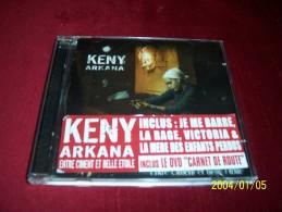KENY ARKANA  ° ENTRE CIMENT ET BELLE ETOILE   19 TITRES + INCLUS DVD CARNET DE ROUTE - Rap & Hip Hop