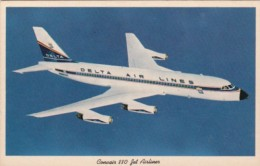 Delta Air Lines Convair 880 Jet Liner - 1946-....: Moderne