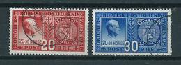 1942 Norway Complete Set European Post Union Used/gebruikt/oblitere