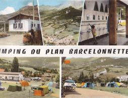 BARCELONNETTE - CAMPING DU PLAN / CIRC 1965 - Barcelonnette