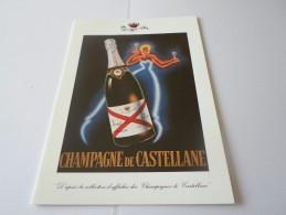 N CHAMPAGNE DE CASTELLANE EPERNAY SALON PEINTURE ET SCULPTURE  LIONS 18 MARS 1999 - Faire-part
