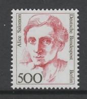 TIMBRE NEUF DE BERLIN - ALICE SALOMON , EDUCATRICE SOCIALE N° Y&T 791