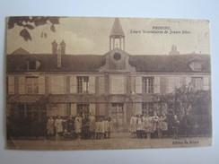 77 Seine Et Marne Provins Cours Secondaires De Jeunes Filles Dans L'état - Provins