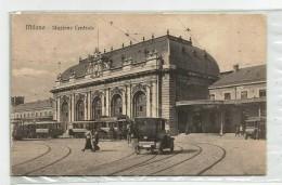 B 886) MILANO - STAZIONE CENTRALE -ANIMATA - Pescara