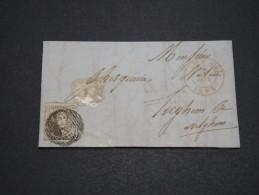 BELGIQUE - Lettre De Leuze Pour Avelghem En 1854 , Affranchissement Plaisant  A Voir - L 4884 - 1851-1857 Medaglioni (6/8)